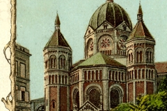 BRESLAU SYNAGOGUE - From Used Postcard