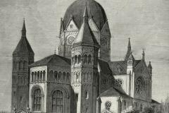 Breslau Synagoge - Woodcut
